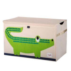Speelgoedkist 3 Sprouts Groen Polyester