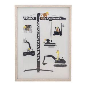 Kinderposter & schilderij Bloomingville Beige MDF