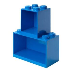 Kinder wandplank LEGO Blauw Polypropyleen
