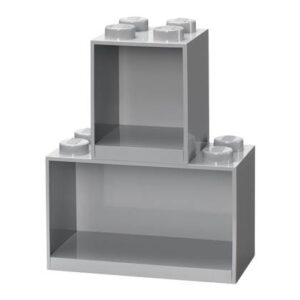 Kinder wandplank LEGO Grijs Polypropyleen