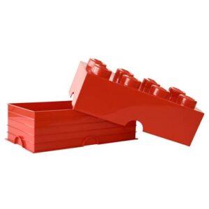 Opbergbox kinderkamer LEGO Rood Kunststof